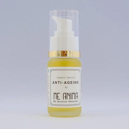 Anti-ageing hudvårdsolja bra för mogen hud, motverkar rynkor